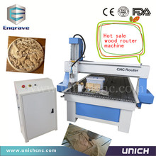 new type stronger CNC router machine/3d cnc router/4 axis cnc
