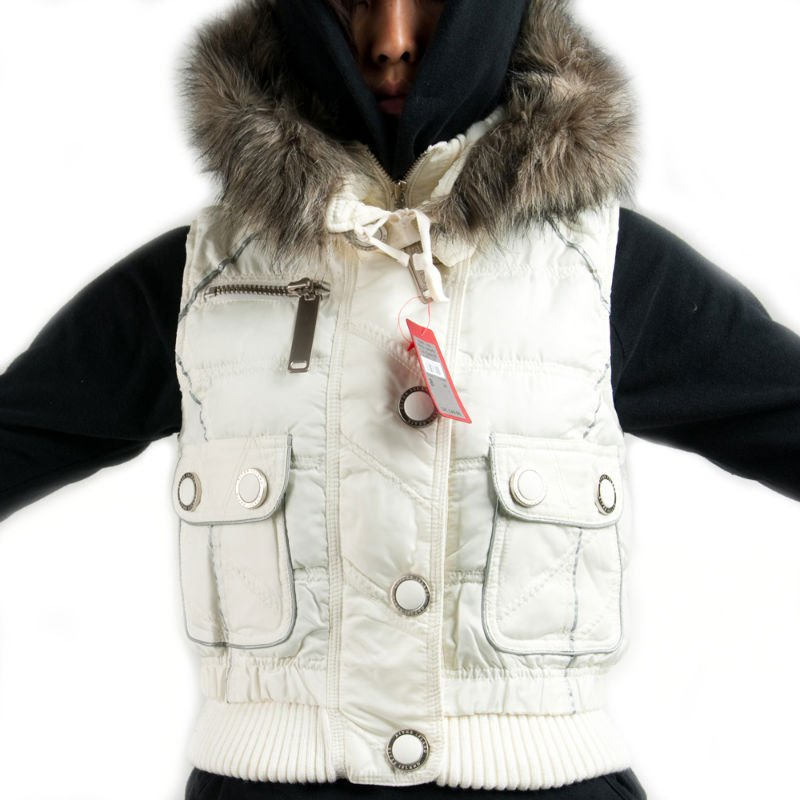 Cream Winter Vest