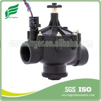 3 Ways sprinkler valve with flow control manual set similar to hunter