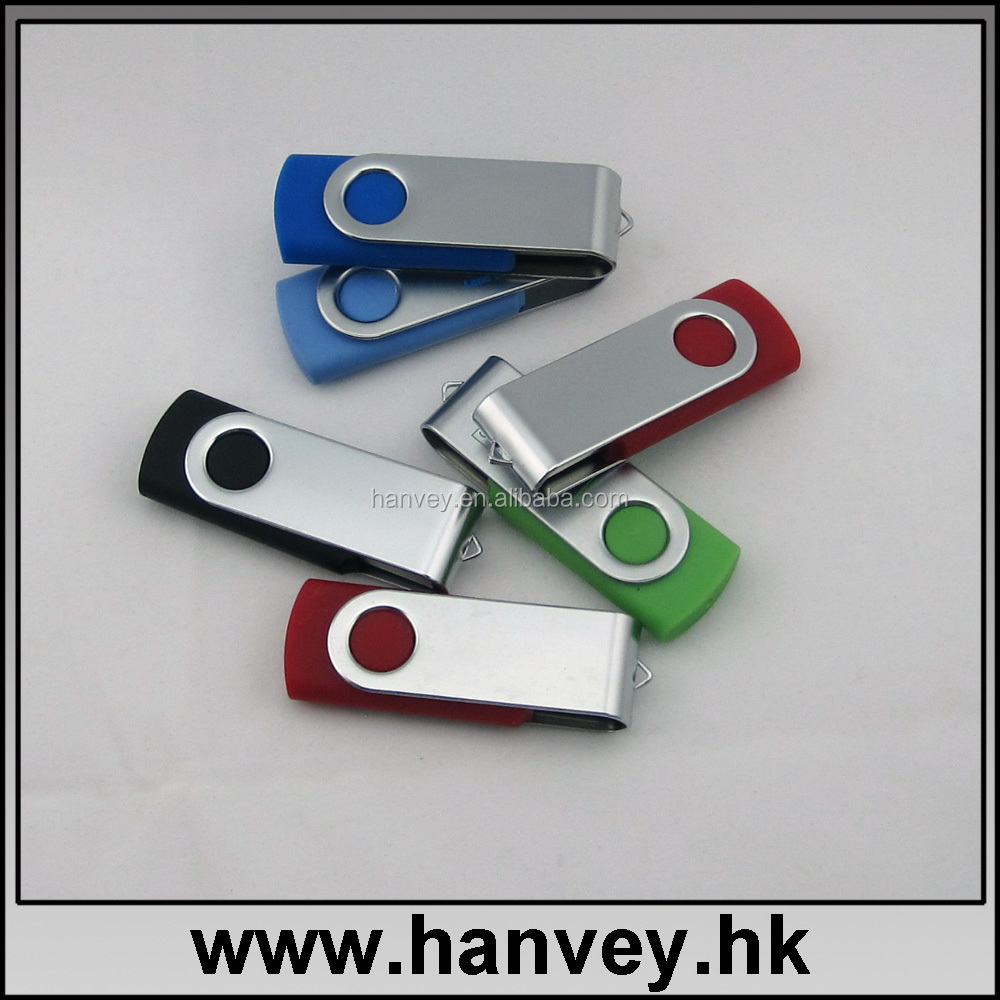 bottom price Swivel Usb Flash Drive bulk 1 gb to 64 gb usb disk USB 2.0