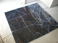 Newest marquina marble tile slab for black marble coffee tables