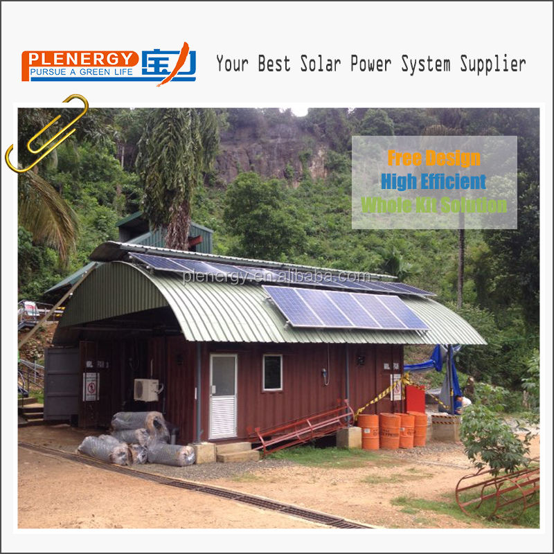 Remote areas off grid 10kva 8kw home solar power system