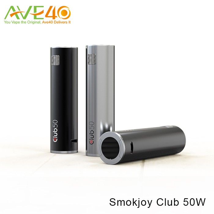 Authentic SMOKJOY Club 50 50W VV VW Battery Mod + Air Tank 22 Micro Kit from Ave40