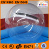 Water PVC inflatable toys big clear transparent plastic ball