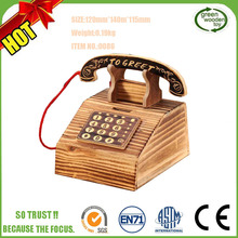 Promotional Fancy Popular Personalized DIY Custom Wholesale Saving Kids Wooden Money Box