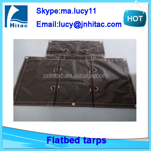 18oz heavy duty used pvc vinyl truck tarps tarpaulin fabric