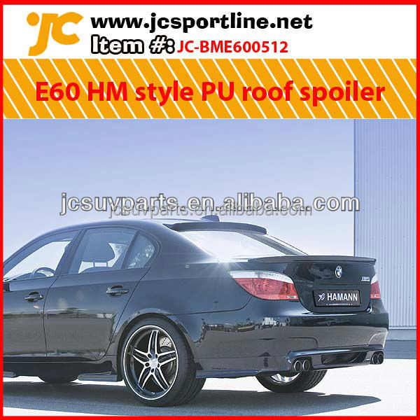 E60 HM Style PU Roof Spoiler For BMW