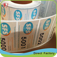 cheap full color custom printed Waterproof adhesive labels for glass spice bottles of label printing