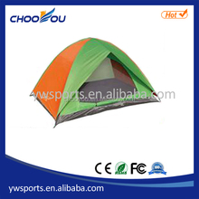 3 person double layer single door Waterproof Outdoor Camping Family Tent