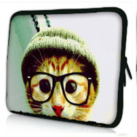fashion neoprene tablet sleeve 10.1, laptop sleeve with zipper closure