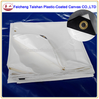 China manufacturer waterproof PVC coated fabric PVC tarpaulin for truck cover