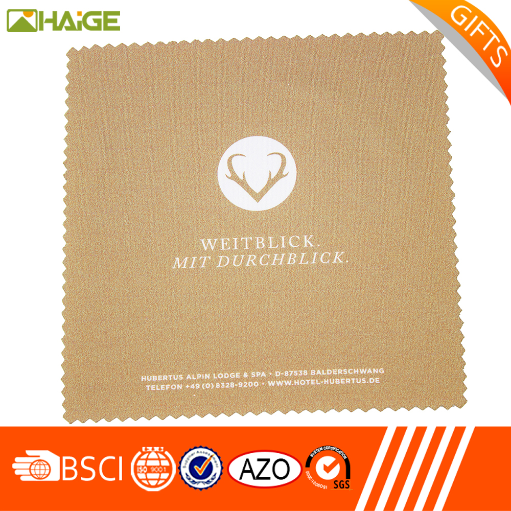 popular China supplier fashionable Super Cheap personalized microfiber cleaning cloths from China famous supplier