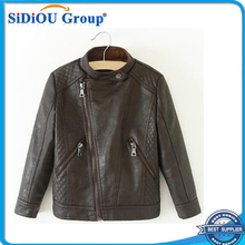 dubai kids leather jacket for girls