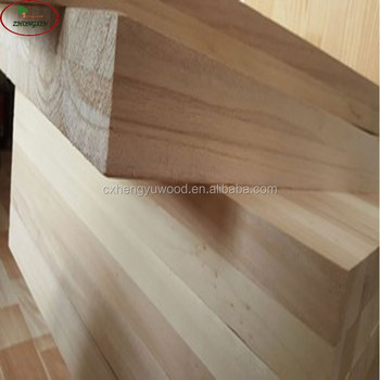 bleached paulownia wood timber