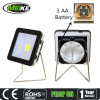 3AA Operated With Stand and Hang Hook 3Watt COB Portable Flood Work Light