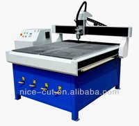 Advertising signs cnc router for aluminum brass iron steel NC-1212