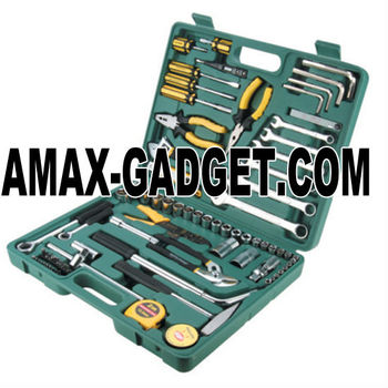 tool-s8082 car repair set 81pcs high quality tool kit