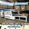 Semi-aut odie cutting corrugated paperboard printer packaging carton machine