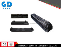 Small Customized Jeep Rubber Track Conversion System