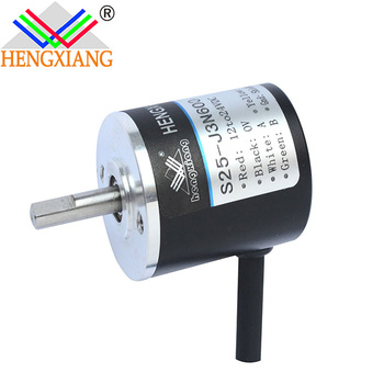 Mini linear displacement transducer encoder shaft 4mm 2500ppr