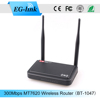 Two fixed 5dbi antenna 300mbps openwrt 2km wifi range wireless router