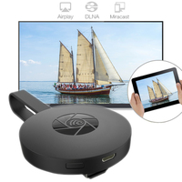 1080p Dual Core MiraScreen G2 Chromecast Wireless WiFi Display Dongle Receiver compatibal with Airplay DLNA for IOS Android