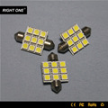 White 36mm Error Free Canbus Festoon Number License Plate Light led for car