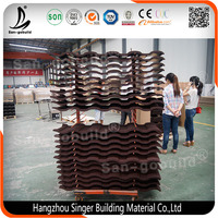China Factory Stone Coated Prepainted Galvanized Sheet Metal Roofing Tile
