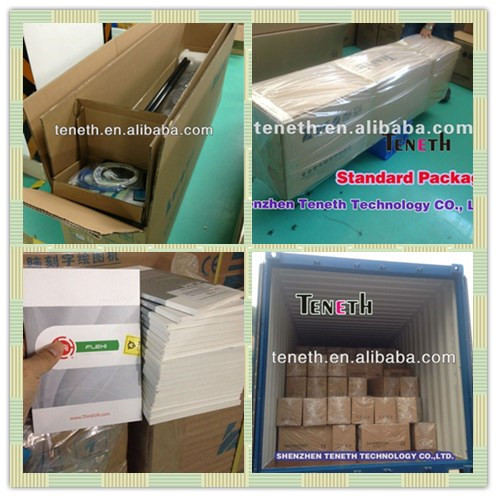 Teneth 2 feet 4 feet 5 feet stencil cardboard vinyl cutting plotter flexi 10 software 3M reflective film sticker cutting machine