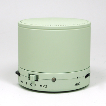 Cylinder wireless Speaker with FM support TF Card