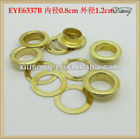 EYE6337 gold metal grommets for handbags