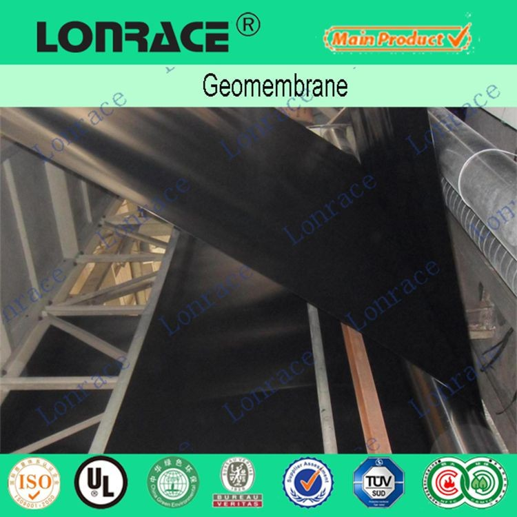 supply smooth geomembrane HDPE membrane