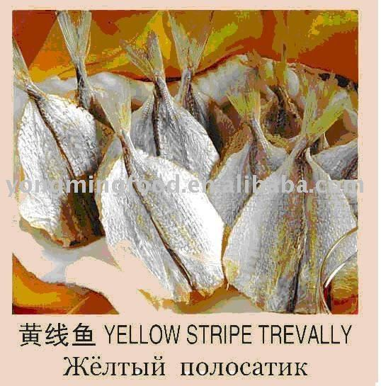 dry yellow stripe trevally seafood