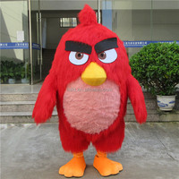 China professional costume supplier cartoon movie character angry bird mascot for sale