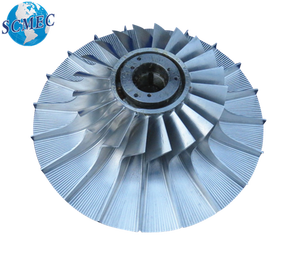 Shanxi best supplier CNC machined compressor wheel for turbocharger