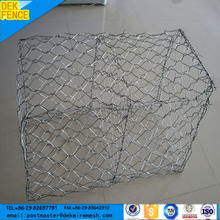 Factory supply hot Sale Galvanized Wire Cages Rock Retaining Wall Prices