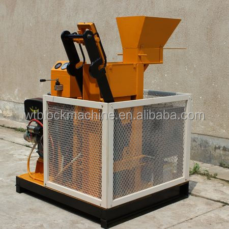 WT1-25 fully automatic red clay bricks making machine