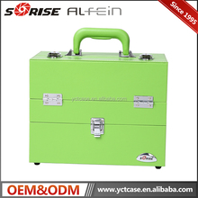 Guangzhou factory cheap Nail artist cases cosmetic display case