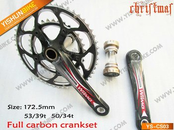 YSBIKE CS-03 ROAD BIKE CARBON CRANKSET