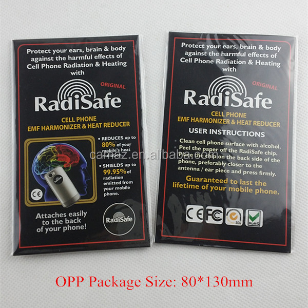 RadiSafe scalar anti radiation quantum shield