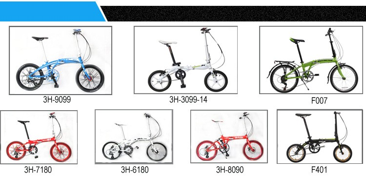 XTASY folding bicycle small wheel MINI folding bicycle