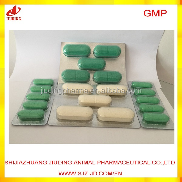 antibiotic Sulfachloropyrazine sodium tablet for camels cattle cows