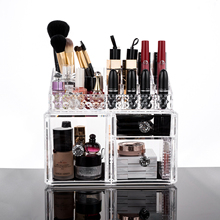 Acrylic Cosmetic Palette Organizers, Makeup Beauty Storage, Cosmetic Display Case