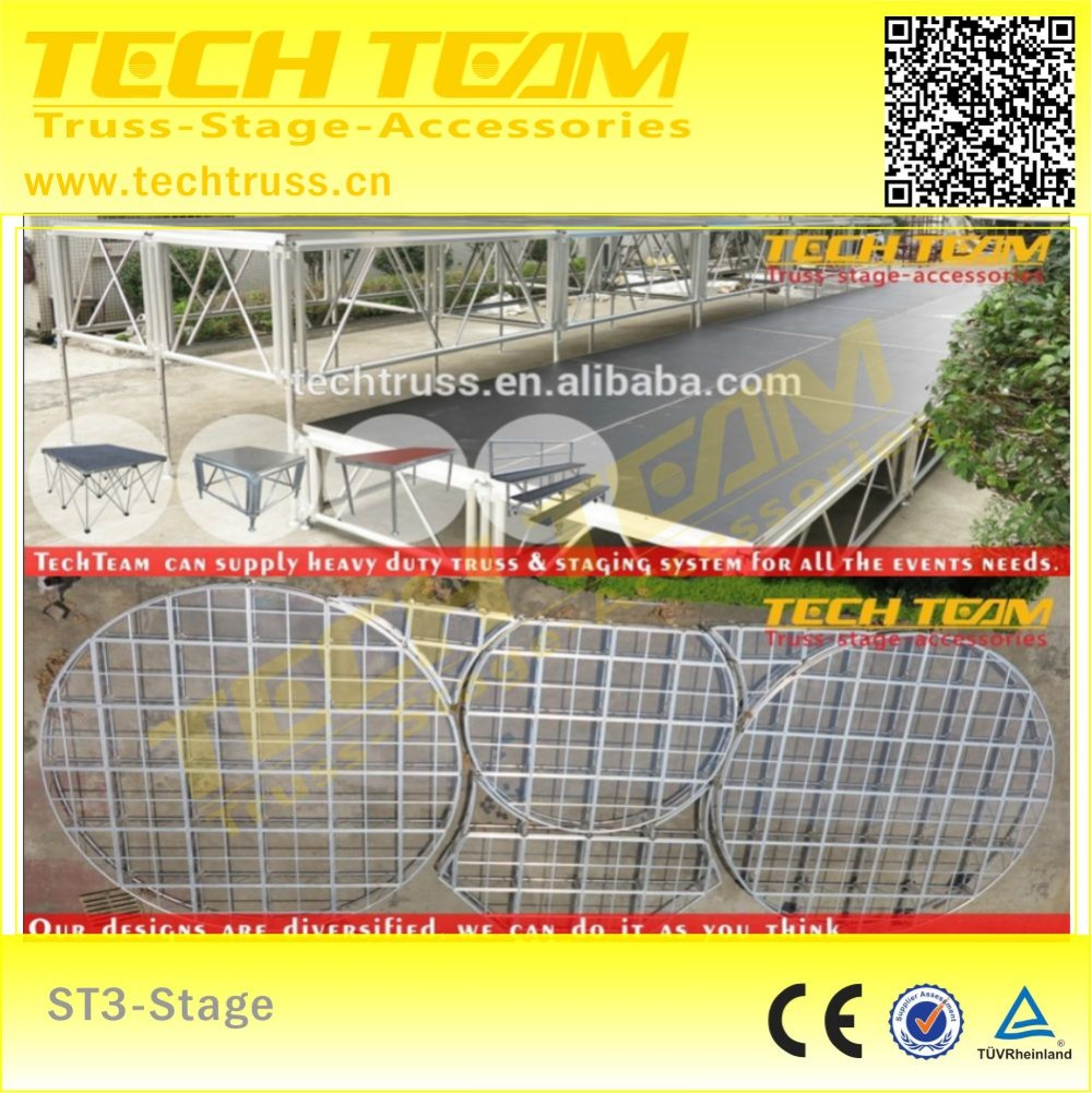 Outdoor concert stage sale , mobile stage for sale/Portable heavy duty stage