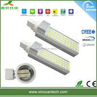 High efficiency g24 led lamp13w/11w/9w.7w/5w , g24 led pl lamp ,led plug light