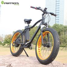 "AIMOS new model 26"" electric mountain bike TM265-1 with sumsang lithium battery bicicleta eletrica"