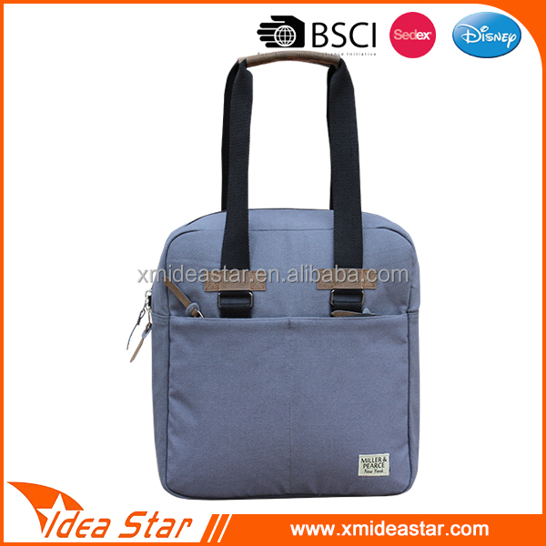 Hot selling durable retro canvas hand bags for school