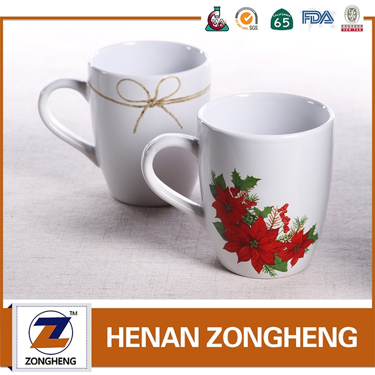 Christmas promotional gift 2016 coffee mugs prices