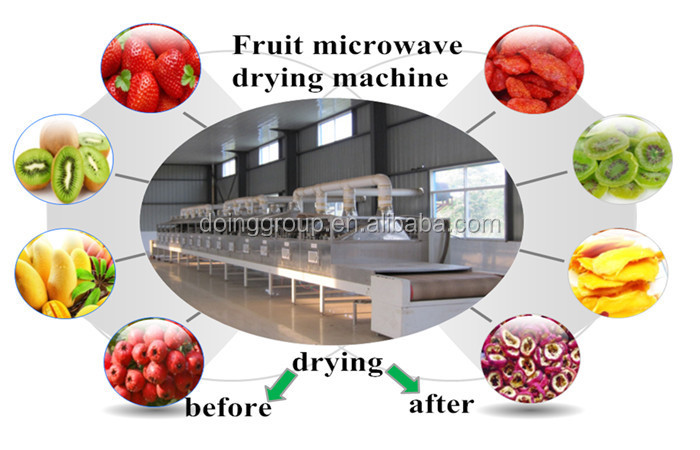 Microwave drying machine / Commercial microwave drying sterilization equipment