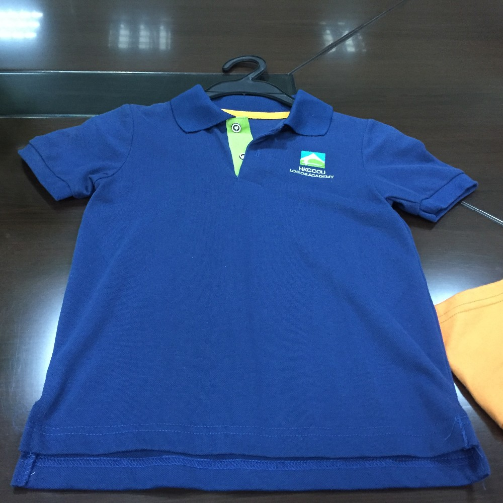 School students uniform dri fit polo shirts cotton blouses for Personalized polo shirts for toddlers